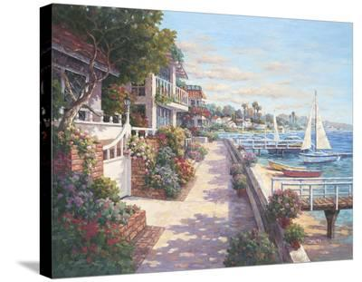Private Harbor-Yuri Lee-Stretched Canvas Print