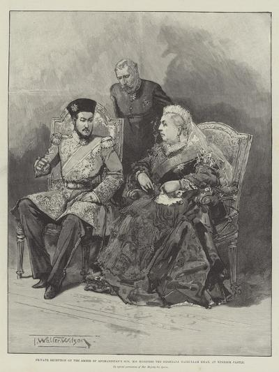 Private Reception of the Ameer of Afghanistan's Son-Thomas Walter Wilson-Giclee Print