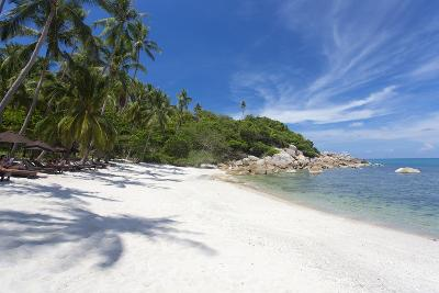 Private Secluded Beach Fringed by Palm Trees at the Silavadee Pool Spa Resort Near Lamai-Lee Frost-Photographic Print