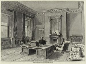 Private Study of the Lord Lieutenant