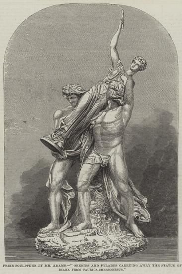 Prize Sculpture by Mr Adams--Giclee Print