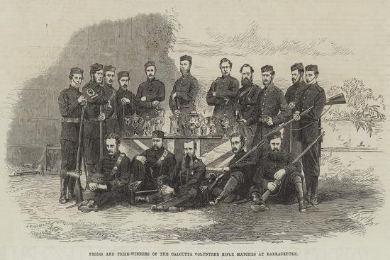 Prizes and Prize-Winners of the Calcutta Volunteer Rifle Matches at Barrackpore--Giclee Print