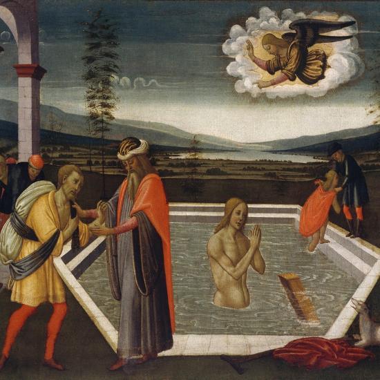 Probatic Pool-Jacopo Del Sellaio-Giclee Print