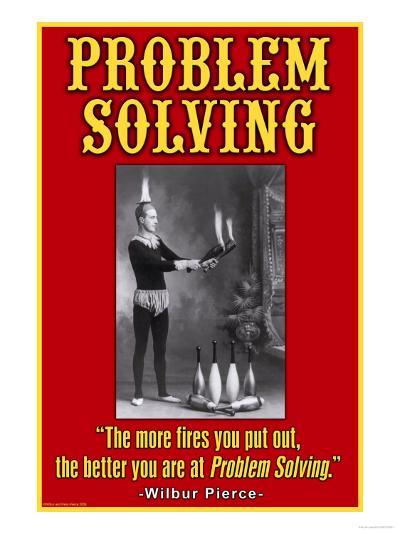 Problem Solving--Art Print