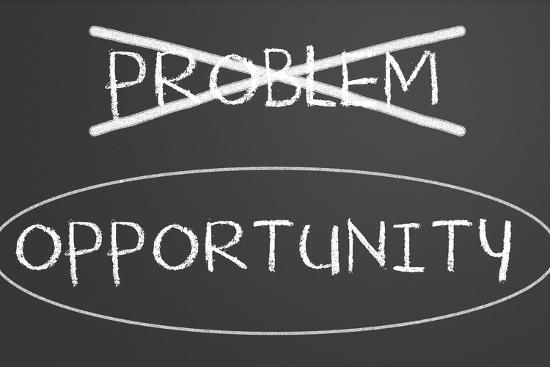 Problems Opportunity Concept-IJdema-Art Print