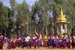 Procession, Elephant Round-Up, Surin, Thailand