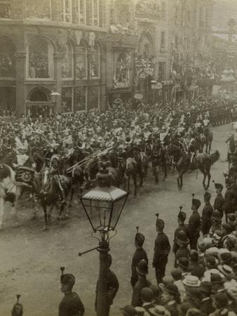 Procession for Queen Victoria's Diamond Jubilee, 1897--Photographic Print