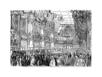 Procession of Her Majesty to the State Ball in the Guildhall, City of London, July 1851-William Griggs-Giclee Print