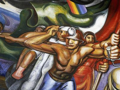 Procession of Men and Women--Giclee Print