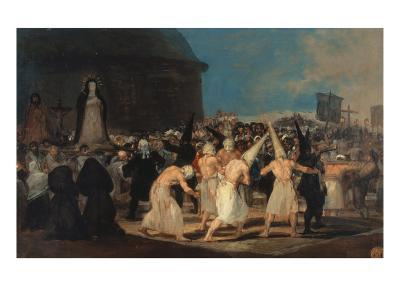 Procession of Penitents-Francisco de Goya-Giclee Print