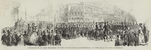 Procession of the Members of the Provisional Government, to the Hall of the Assembly
