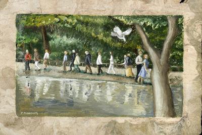 Processional Annunciation, 2006-Caroline Jennings-Giclee Print
