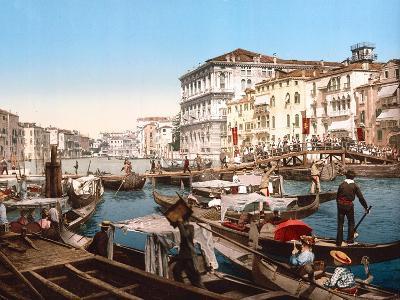 Processione Sul Canal Grande, Venice--Giclee Print