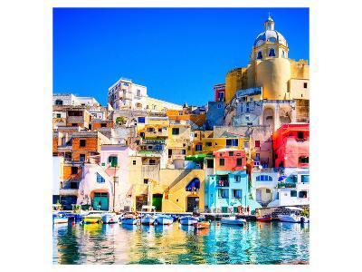 Procida Island Naples - Italy--Art Print