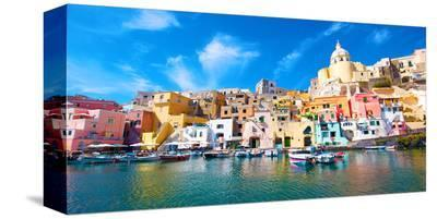 Procida MediterraneanSea Italy--Stretched Canvas Print
