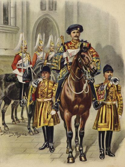 Proclaiming George V King of England, 1910-Henry Payne-Giclee Print