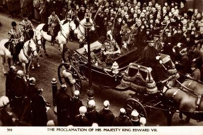 Proclamation of King Edward VIII of England, Coach--Giclee Print