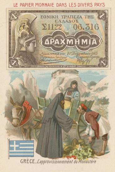 Procuring Supplies for a Monastery, Greece--Giclee Print