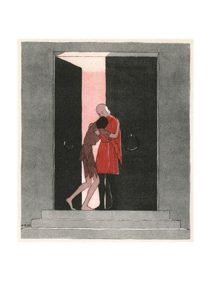 Prodigal Son-AE Marty-Giclee Print