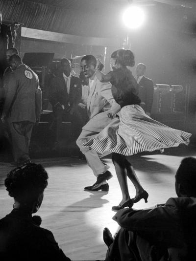 Professional Dancers Performing the Mambo-Yale Joel-Photographic Print