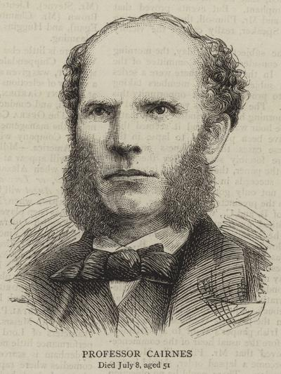 Professor Cairnes--Giclee Print