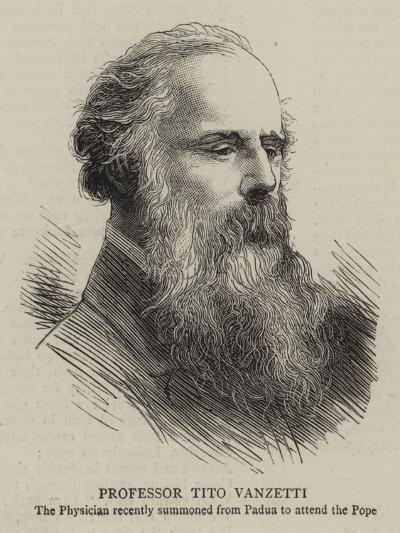 Professor Tito Vanzetti--Giclee Print