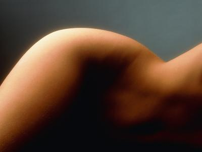 Profile of a Woman's Hip And Waist-Phil Jude-Photographic Print