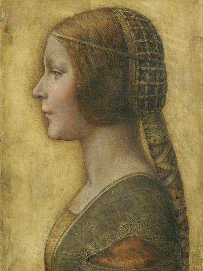 Profile of a Young Fiancee-Leonardo da Vinci-Giclee Print