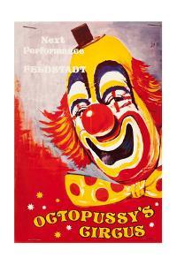 """Programme for """"Octopussy's Circus"""", from the film 'Octopussy', 1983"""