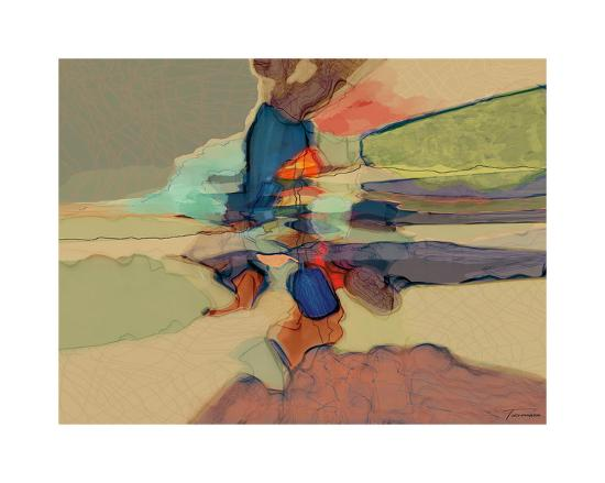 Progression III-Michael Tienhaara-Giclee Print