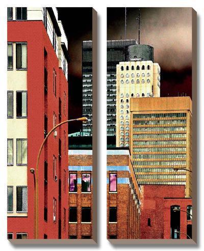 Progressively-Burney Lieberman-Canvas Art Set