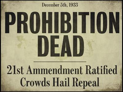 Prohibition--Giclee Print
