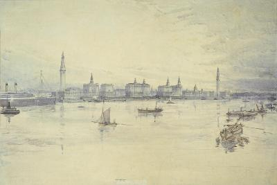 Project for Liverpool Waterfront-Harold Chalton Bradshaw-Giclee Print