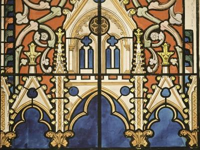 Project for the Windows of the Royal Chapel of Dreux-Eug?ne Viollet-le-Duc-Giclee Print
