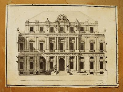 Project of Ducal Palace in Genoa--Giclee Print