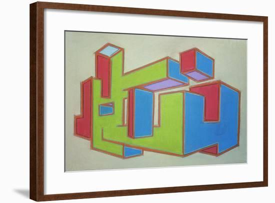 Project Third Dimension 5-Eric Carbrey-Framed Giclee Print