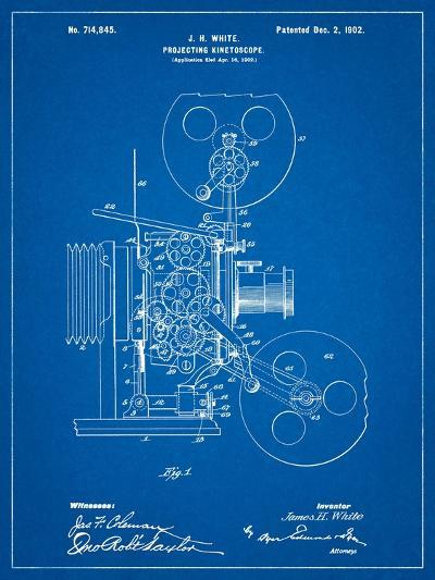 Projecting Kinetoscope Patent-Cole Borders-Art Print