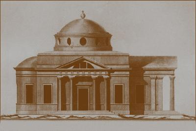 Projest of the Cathedral of St Joseph in Mogilev, C. 1780-Nikolai Alexandrovich Lvov-Giclee Print