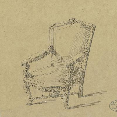 Projet de fauteuils-Antoine Zoegger-Giclee Print