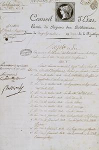 Projet de loi concernant le code civil 1804