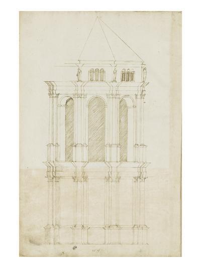 Projet de transformation du choeur de la cathédrale de Bamberg-Herman Vischer-Giclee Print