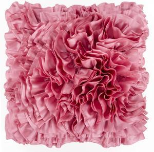 Prom Ruffle Poly Fill Pillow - Blush Pink