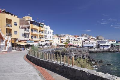 Promenade at the Port, Los Abrigos, Tenerife, Canary Islands, Spain, Atlantic, Europe-Markus Lange-Photographic Print