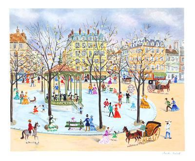 Promenade at the Square-Claude Tabet-Collectable Print