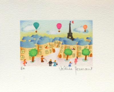 Promenade Dans Paris-Val?rie Hermant-Collectable Print