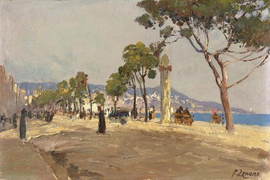 Promenade des Anglais, Nice-Fausto Zonaro-Giclee Print