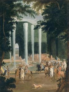 Promenade du Grand Dauphin et de Louis XIV dans les jardins de Versailles