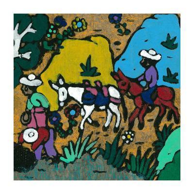 Promenade En Ane--Art Print