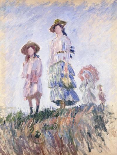 Promenade-Claude Monet-Giclee Print