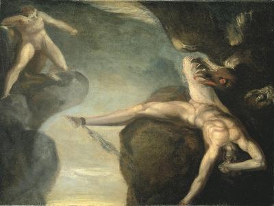 Prometheus Freed by Hercules, 1781-1785-Henry Fuseli-Giclee Print